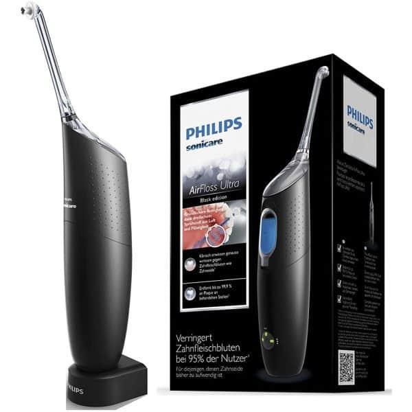 Máy Tăm Nước Philips Sonicare AirFloss Ultra HX8431/03 Màu Đen