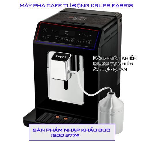MÁY PHA CAFE TỰ ĐỘNG KRUPS EA8918 3 1