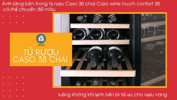 TU RUOU CASO 38 CHAI CASO WINE TOUCH CONFORT 38 1