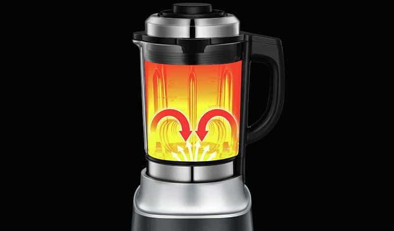 Máy xay sữa hạt Tefal BL962B38 - Bình thủy tinh chịu nhiệt, đặc biệt không phát sinh độc tố khi nấu ở nhiệt độ cao