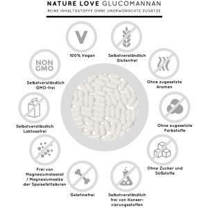 Viên Nang Giảm Cân Nature Love Glucomannan 120 Viên