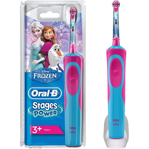 Bàn Chải Điện Trẻ Em Oral-B Stages Power Frozen 5+