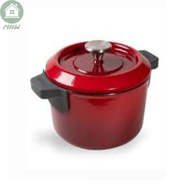 NOI GANG WOLL IRON POTS 20CM CHILL RED