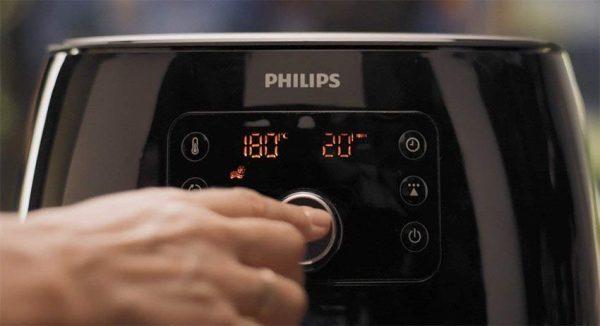 Nồi Chiên Không Dầu Philips HD9651/90-5