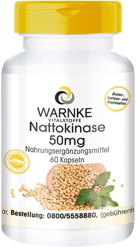 Viên Nang Nattokinase Warnke 50mg