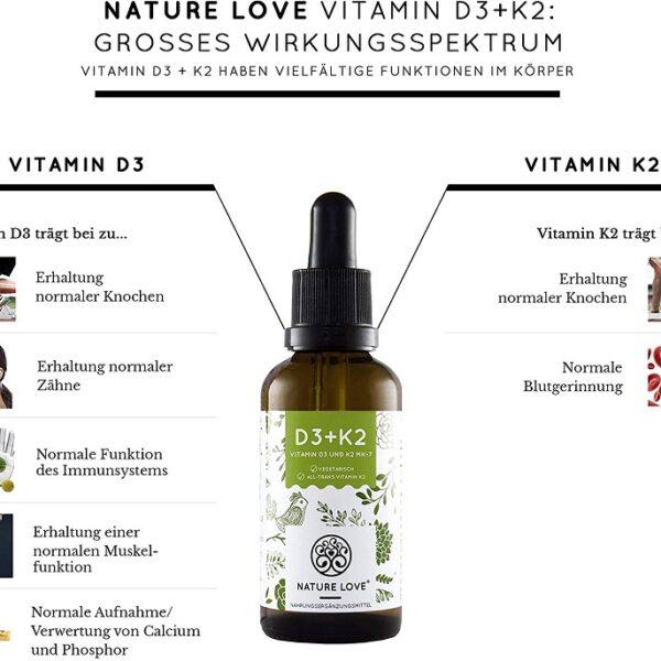 thực phẩm bổ sung vitamin K2 D3