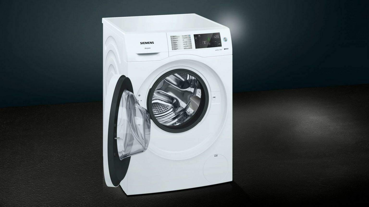 Thiết kế sang trọng của máy giặt và sấy khô quần áo Siemens IQ500 WD14U510