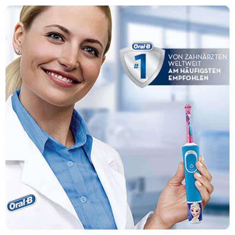Bàn Chải Điện Trẻ Em Oral-B Stages Power Frozen 5+-3