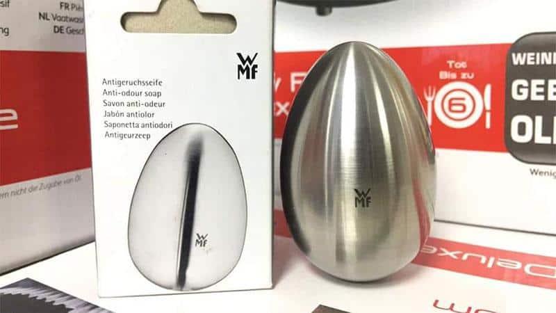 Đánh bay các loại mùi với trứng rửa tay khử mùi Cao Cấp WMF Antigeruchseife Gourmet