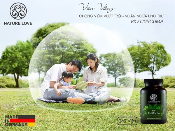 Viên Nang Bio Curcuma Kapseln Nature Love 240 Viên