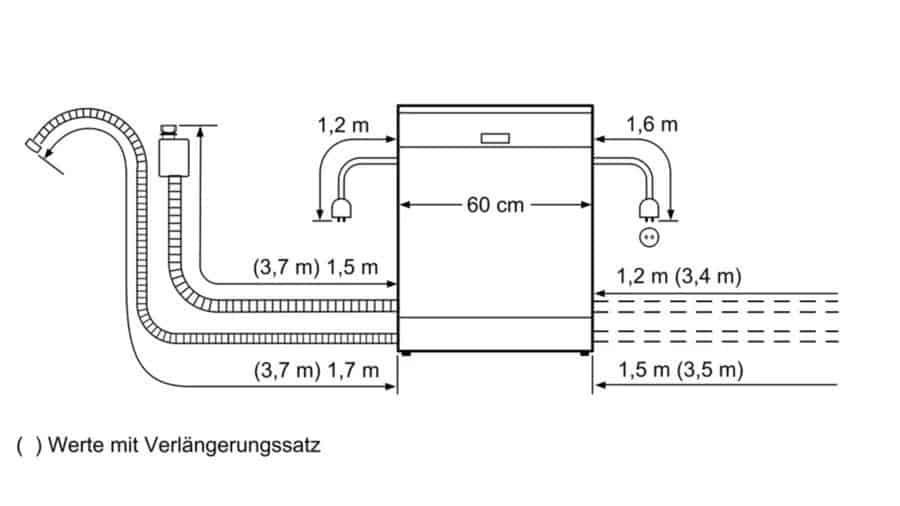 Máy Rửa Bát Bosch Series 4 SMI46NS01E-2