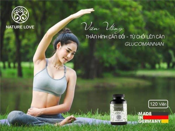Viên Nang Giảm Cân Nature Love Glucomannan 120 Viên-4