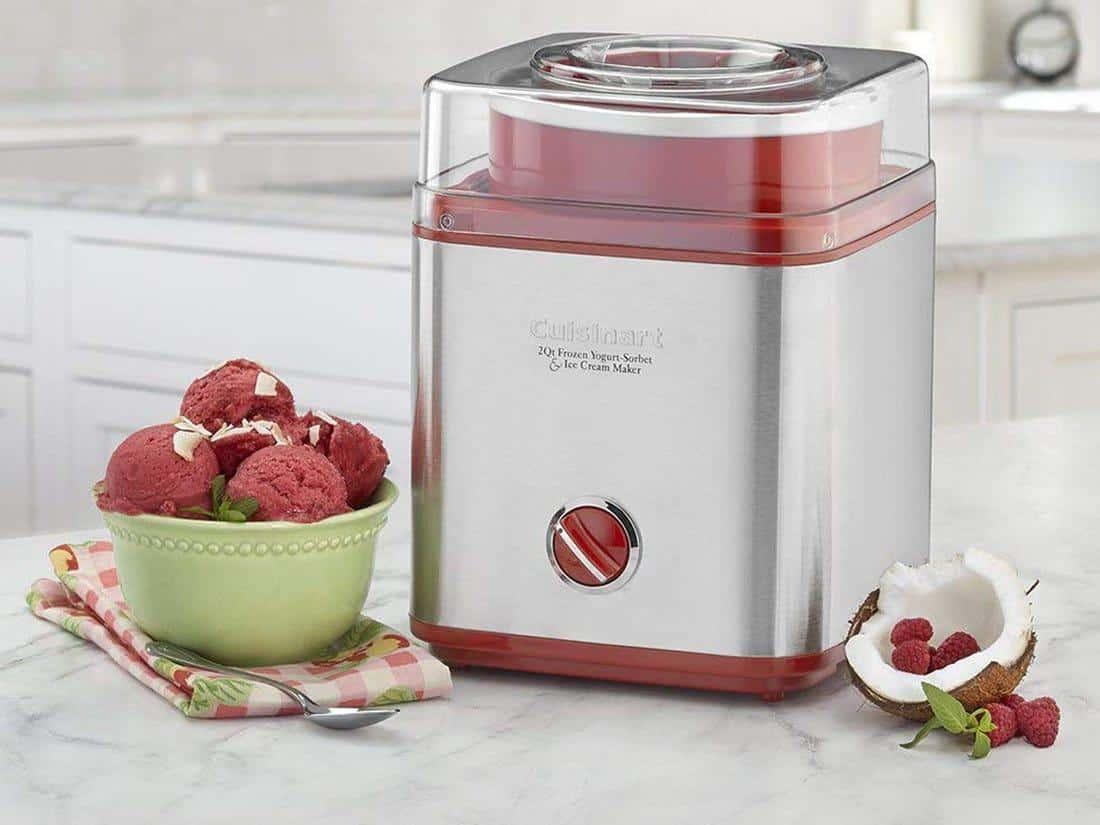 Cách chọn và sử dụng thanh trộn của máy làm kem