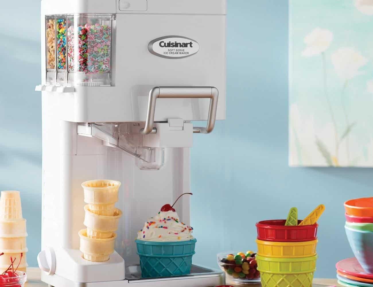 Cách vận hành của máy làm kem