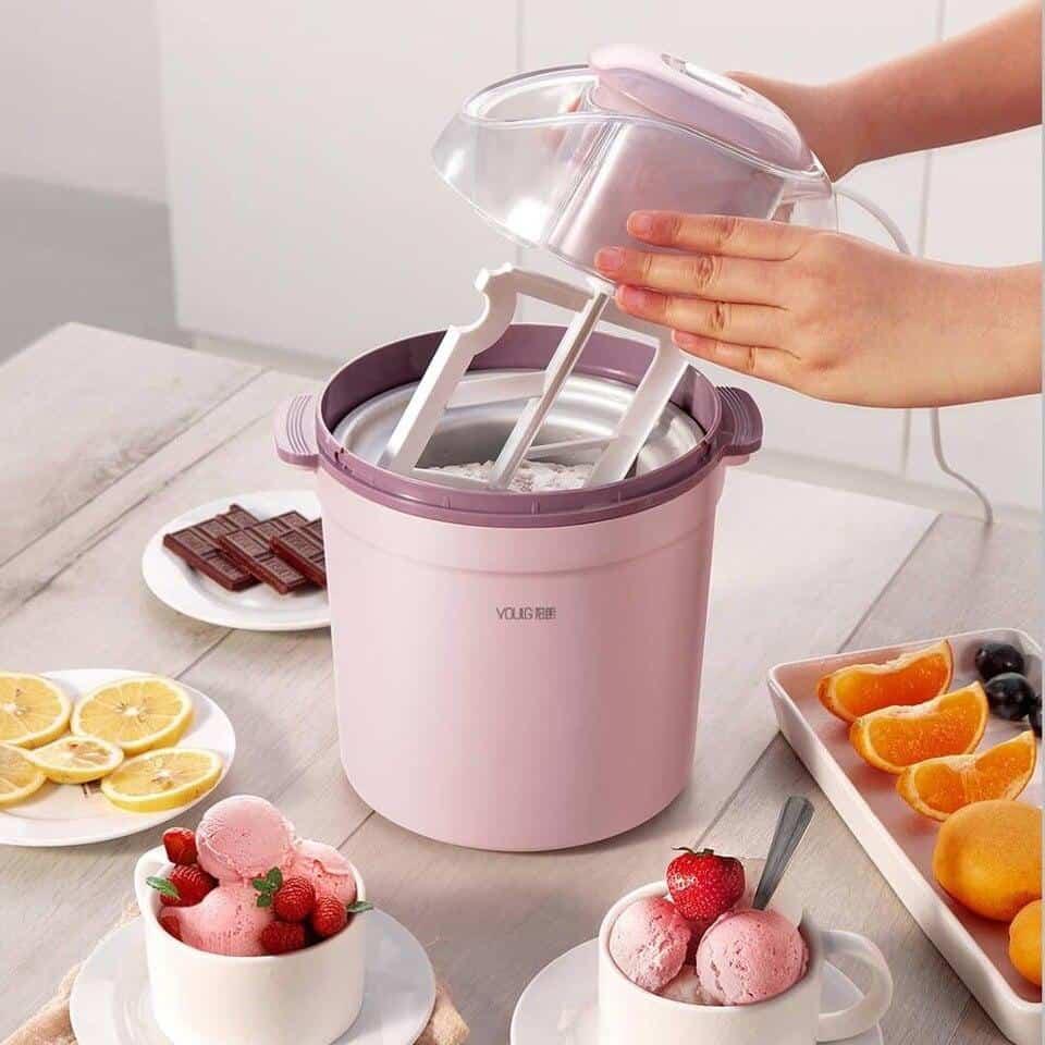 Cách làm wipping cream bằng máy làm kem
