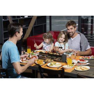 Bếp Nướng Stockli Raclette Grill Cheesmax 4 Anthracite 0400.02 - 4 Người Ăn
