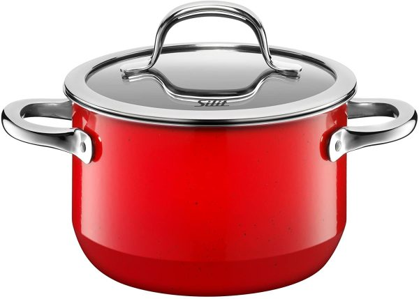 Bộ Nồi Silit Passion Red 4 Món - Màu Đỏ-2