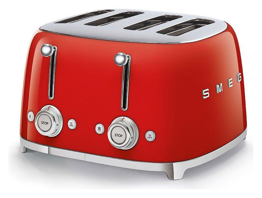 Máy Nướng Bánh Mỳ Smeg TSF03RDEU Red - 1