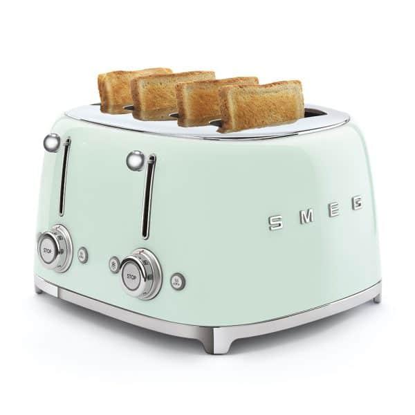 Máy Nướng Bánh Mì Smeg TSF03PGEU Pastel Green-1