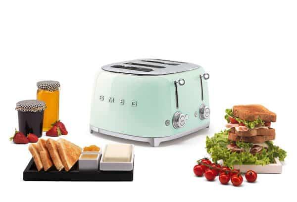 Máy Nướng Bánh Mì Smeg TSF03PGEU Pastel Green-4