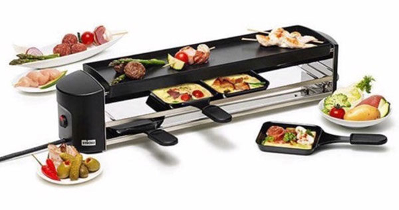 Bếp Nướng Stockli Raclette Grill Cheesmax 4 Anthracite 0400.02 - 4 Người Ăn - 2