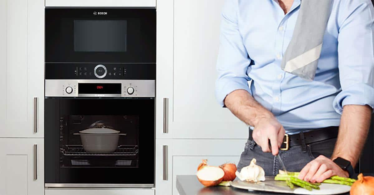 Lò Vi Sóng Bosch BFL634GB1 - Thiết kế âm tủ làm tăng vẻ sang trọng và tiện nghi cho ngôi nhà bạn