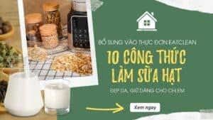 1 10 cong thuc lam sua hat eatclean