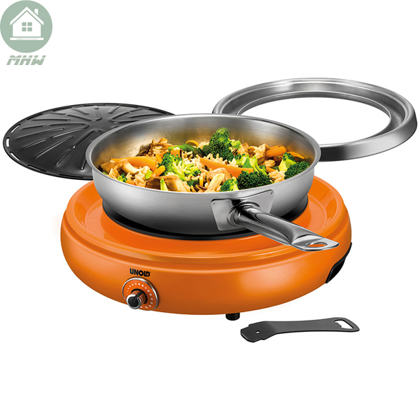 Bep nuong Unold 58543 – Orange
