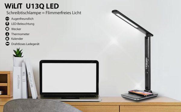 Den ban Wilit U13Q LED 9W 8