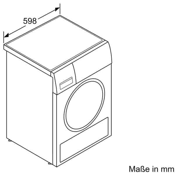 Máy Sấy Bosch WTX87M40 Series 8