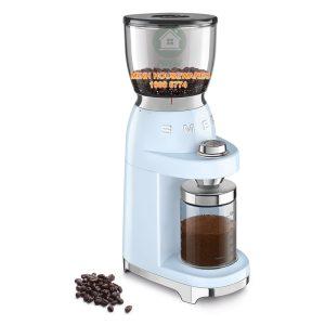MÁY XAY CAFE SMEG CGF01PBEU màu xanh dương