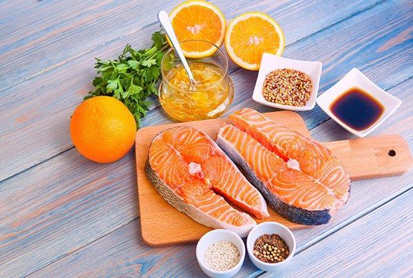 Ướp các loại cá với nước cam được làm từ máy vắt cam WMF của Đức Stelio là một ý tưởng tuyệt vời cho các món ăn nhà bạn