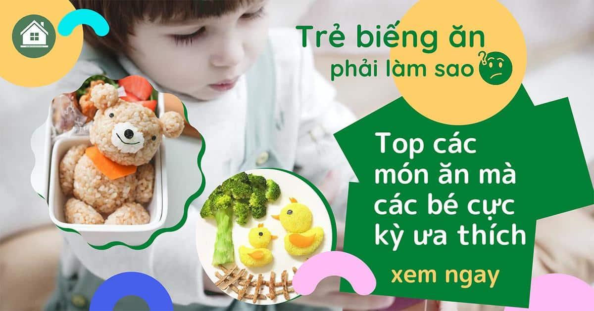 tre bieng an phai lam sao