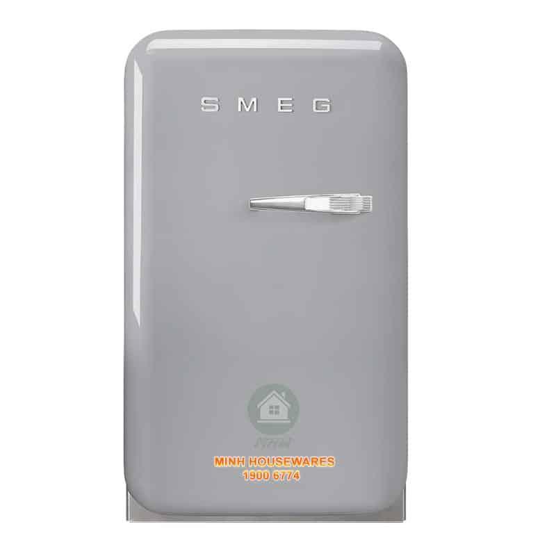 TỦ LẠNH MINI SMEG FAB5LSV3 màu bạc