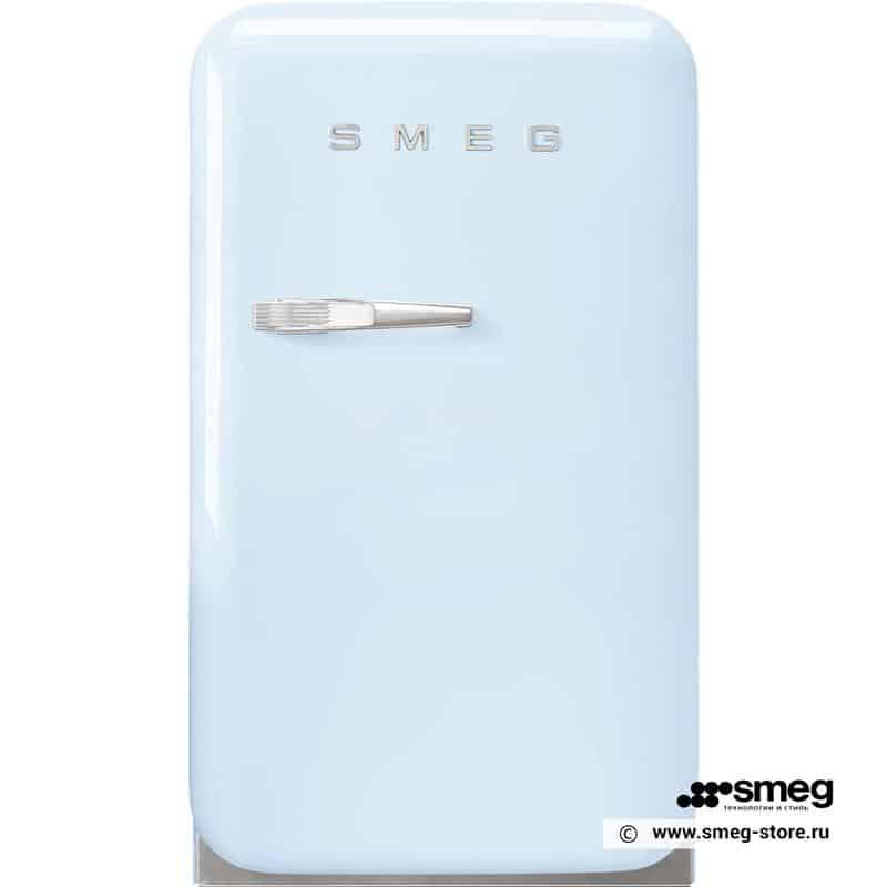 TỦ LẠNH MINI SMEG FAB5RPB3 màu xanh pastel tay cầm trái