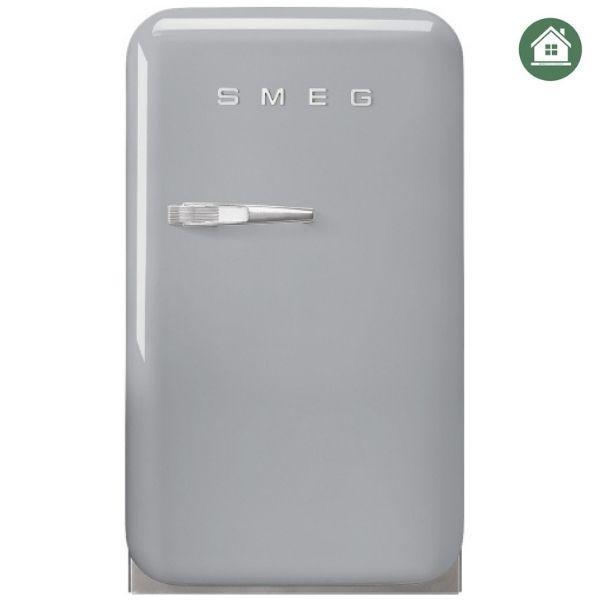 TỦ LẠNH MINI SMEG FAB5RSV3 màu bạc