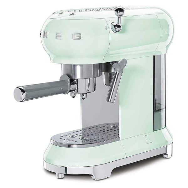 Máy Pha Cà Phê Smeg ECF01PGEU Pastel Green