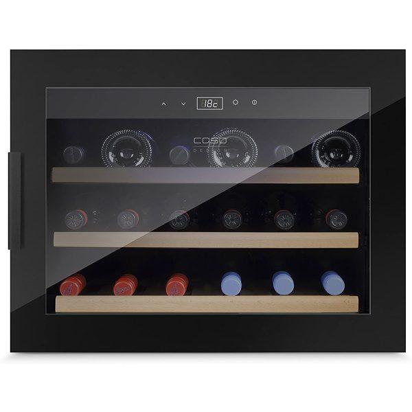 Tủ Bảo Quản Rượu Vang Âm Tủ CASO WineSafe 18 EB Black - 627