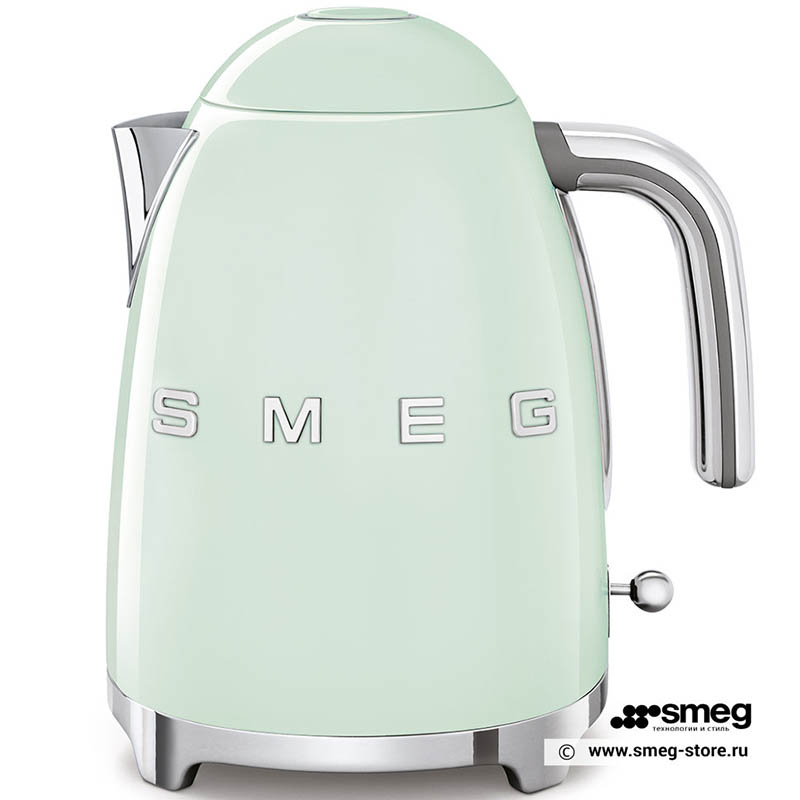 ẤM ĐUN NƯỚC SMEG KLF03PGEU màu xanh lá pastel xinh đẹp, sang trọng