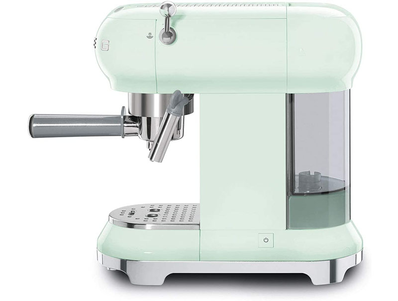 Máy Pha Cà Phê Smeg ECF01PGEU Pastel Green - 2