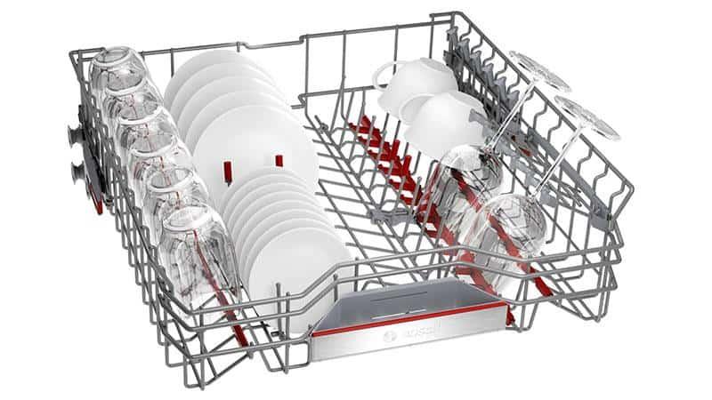 Hệ thống giỏ tiện ích bậc nhất với Máy rửa bát Bosch SMS8YCI01E Series 8