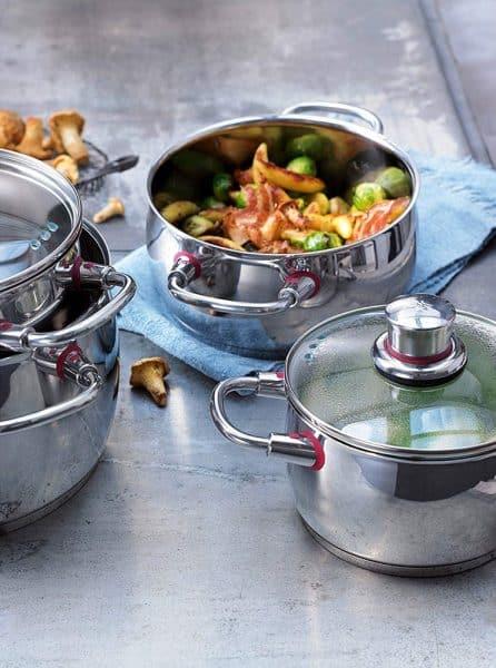 Bộ Nồi Nấu Ăn WMF Quality One, 4 Món-2
