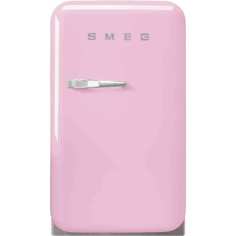 TỦ LẠNH MINI SMEG FAB5RPK3 màu hồng tay cầm bên trái