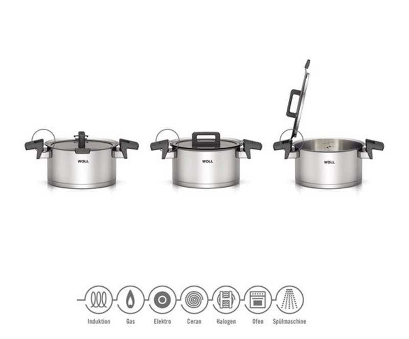 Bộ Nồi Woll Concept NCSET004 Set 6 Pcs 18cm 20cm 24cm-4