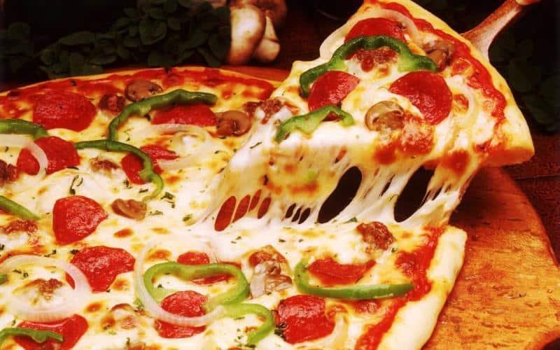 11 pizza tu noi chien khong dau