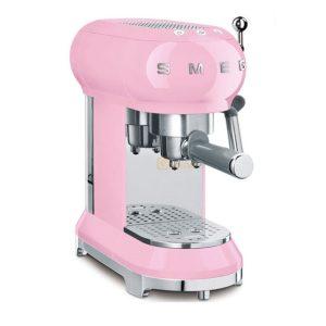 Máy Pha Cà Phê Smeg ECF01PKEU Pink
