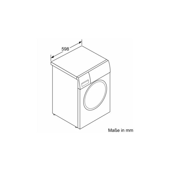 Máy Giặt Cửa Trước Bosch WAV28E42 9kg Series 8