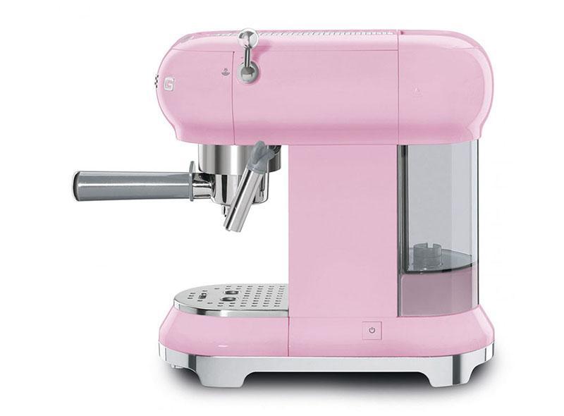 Máy Pha Cà Phê Smeg ECF01PKEU Pink - 2
