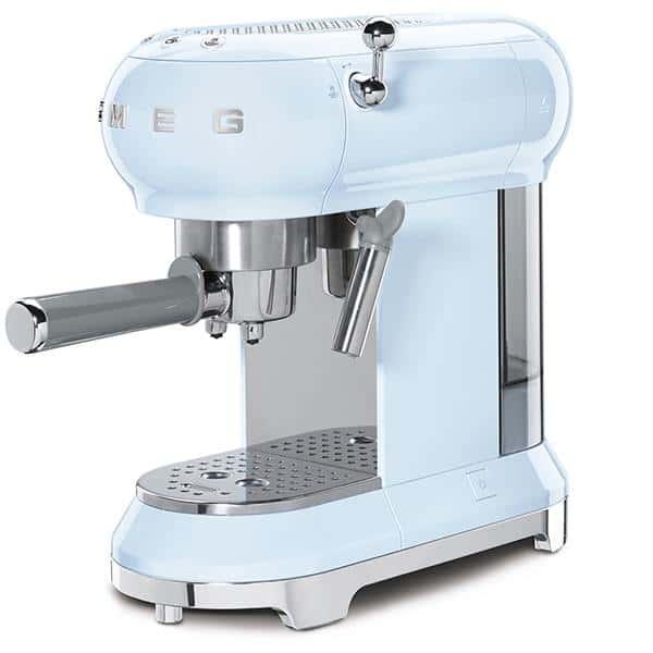 MÁY PHA CAFE SMEG ECF01PBEU màu xanh dương pastel