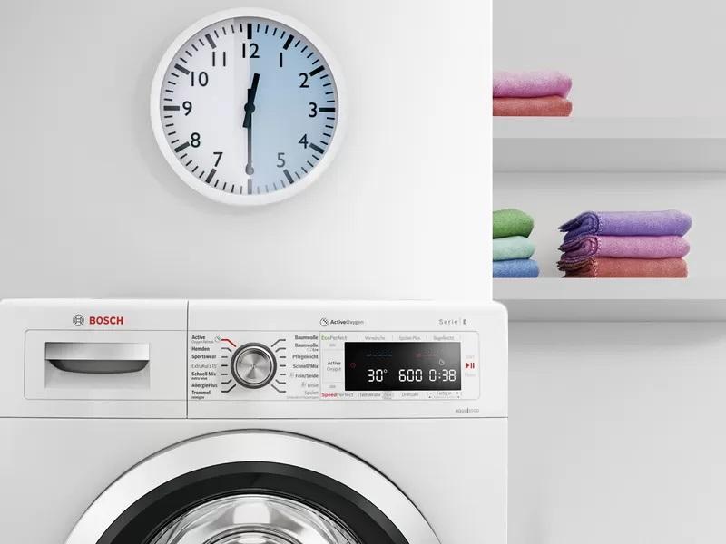 Máy Giặt Cửa Trước Bosch WAV28E42 9kg Series 8 - 16